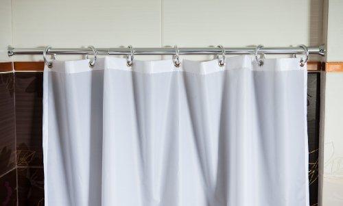 Ks handel tenda per doccia in tessuto cm con