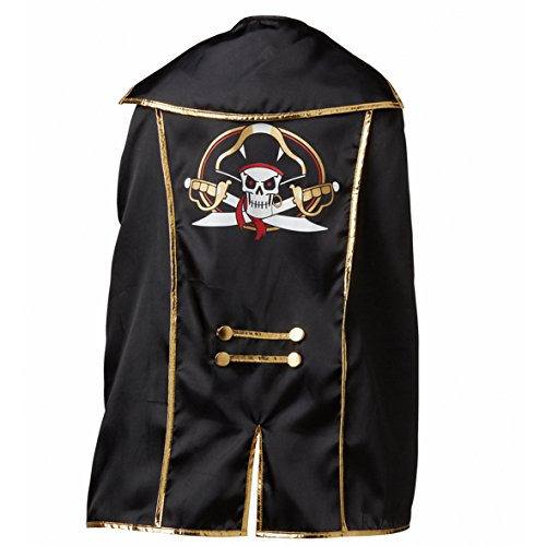 Liontouch 18103 Pirate Cape, Captain Cross / Piraten Umhang, Captain (Play Cross Kostüme)