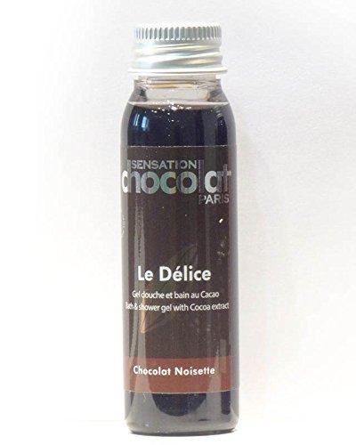 Sensation Chocolat - Gel Douche Délice Chocolat / Noisette - Travel 30 Ml