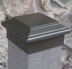 Aurora Titan Post Gap (Passend Deck Licht), 5-1/5,1cm Post, Bronze - Post-low-voltage-deck