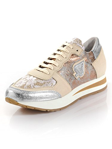 Damen Sneaker mit Glitzereffekt by Alba Moda
