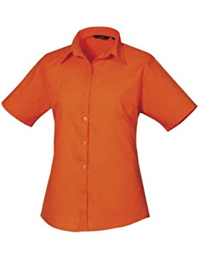 Premier Workwear - Camisa - Mujer Naranja naranja 42