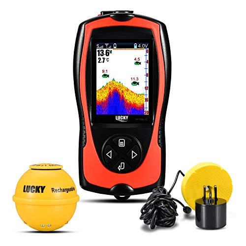 LUCKY Buscador De Peces Inalámbrico/con Cable Sistema de Alarma Senso
