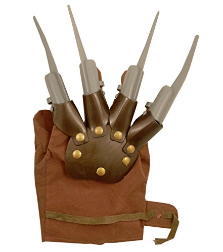 NEW CLAW HAND GLOVE WOLVERINE SPIKES FREDDY KRUEGER NIGHTMARE HALLOWEEN FANCY DRESS COSTUMES ACCESSORY