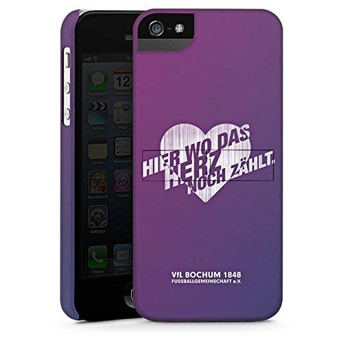 Apple iPhone X Silikon Hülle Case Schutzhülle VfL Bochum Fanartikel Fußball Premium Case StandUp