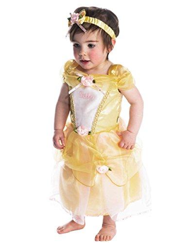 Disney Baby DCPRBE03 - princesa Dress, Belle, amarillo