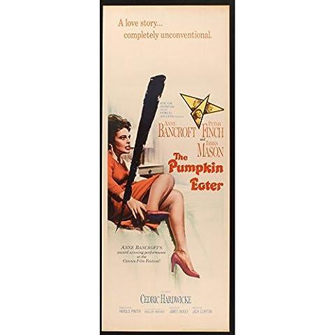 Mangiatore di zucca il motivo: manifesto del film 36 x 91-1964-Anne Bancroft Peter Finch - Peter Zucca