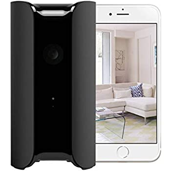Canary All In One Home Security Device Black Amazon Co