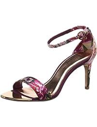 b4610f7c47f Amazon.es  Satén - Zapatos de tacón   Zapatos para mujer  Zapatos y ...