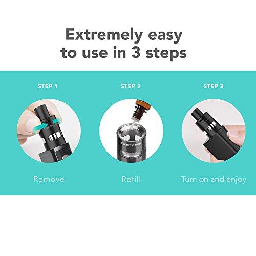 E-Zigarette-Starter-Set-Innokin-OLED-Bildschirm-Ohne-Nikotin-mit-Liquid-50W-E-Shisha-VW-Ezigarette-Verdampfer-Batterie-Mod-Vape-Starterset-Kebor-Top-Fill-2ml-Tank-Regelbare-Watt-Akkutrger-Kit-MEHRWEG