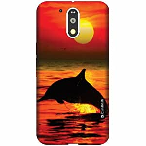 Printland Designer Back Cover for Motorola Moto G4 Plus - Sunset Case Cover