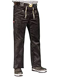 OYSTER TrenkerCord Zunft-Hose Arbeits-Hose - 50255 - breite Rippe - schwarz - Größe: 94
