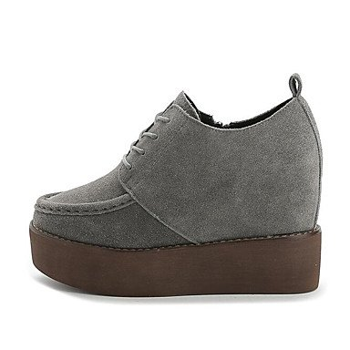 Zormey Damen Stiefel Winter Mary Jane Pu Casual Ferse US6.5-7 / EU37 / UK4.5-5 / CN37