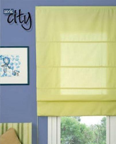 Estores Collection Rollo Raffrollo zusammenklappbar Woven Limette 150x 175Limette 150x 175cm -