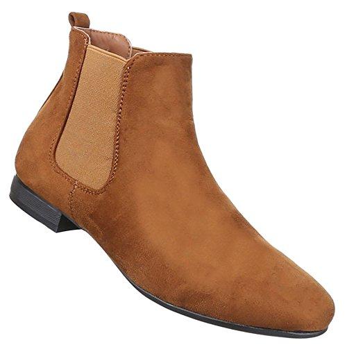 Senhoras Stiefeletten Sapatos Modernos Botas Camelo Preto Cinzento Rosa Amarelo 36 37 38 39 40 41