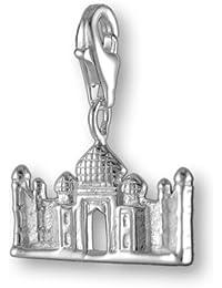 Melina Damen-Charm Anhänger Taj Mahal Indien 925 Sterling Silber 1800381