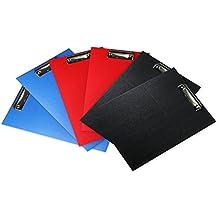 Fanaticism 6er Klemmbrett Zwischenablage A4, blau, rot, Schwarz