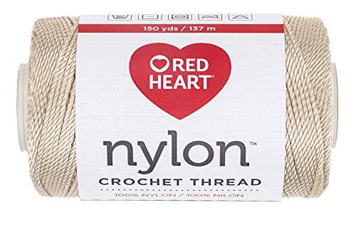 Coats - Crochet Crochet en nylon fil, Taille 18, 150-yard, naturel