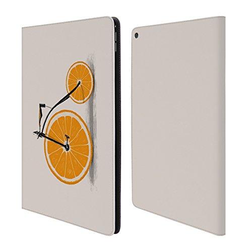 Ufficiale Florent Bodart Vitamine Biciclette Cover a portafoglio in pelle per Apple iPad Pro 12.9