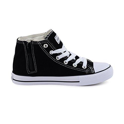 best-boots , Sneakers femme homme Noir
