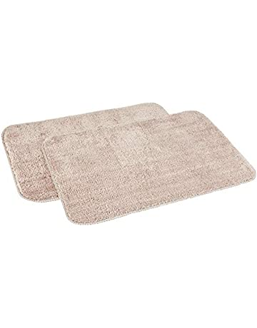 """White 36/"""" X 48/"""" 100/% Cotton Tufted Bath Rug Mat Made in Italy 90 x 120 Washable"""