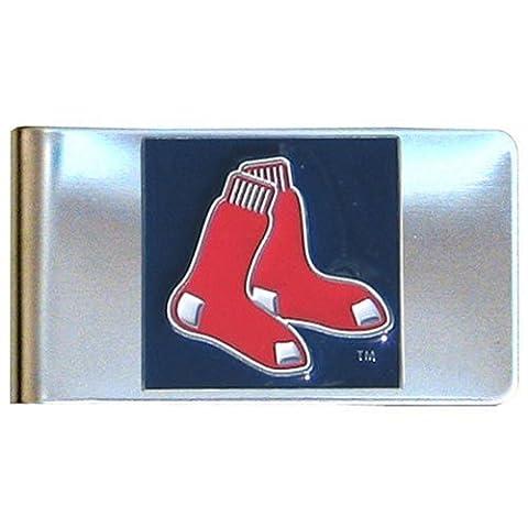 MLB Pince à billets en acier, Homme, Boston Red Sox