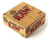 RAW Filter Tips Perforated Cartine punte del filtro Sigarette punte del filtro Carte da fumo punte del filtro Confezione da 50 opuscoli from SUDESH ENTERPRISES