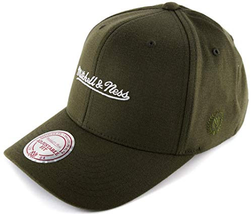 pretty nice f3909 176ad Mitchell   Ness Herren Snapback Cap 110 The Camo   Suede Olive Verstellbar
