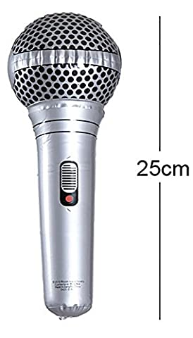 Inflatable Microphone Party Favour Accessory Giant Gift Toy Kids Adult Children