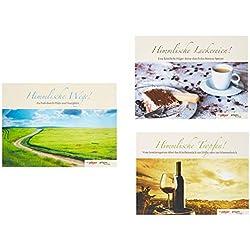 Himmlische-Reihe in drei Bänden: Himmlische Wege, Himmlische Leckereien, Himmlische Tropfen