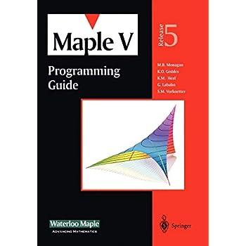 Maple V Programming Guide