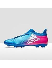 adidas X 16.3 FG - Botas de fútbol para Hombre, Azul - (AZUL/FTWBLA/ROSIMP) 45 1/3