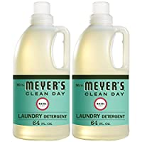 Mrs. Meyer%27s Clean Day Mrs MeyerS 64 Load Laundry Detergent Basil 64 Fluid Ounce Pack Of 2