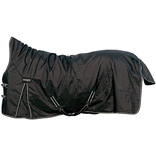CATAGO Outdoordecke Justin für Pferde, 150g - schwarz - 125 cm