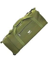 Slimbridge Havant Extra Large 32 Inch Foldable Super Lightweight Wheeled Rolling Luggage Holdall Duffle Bag