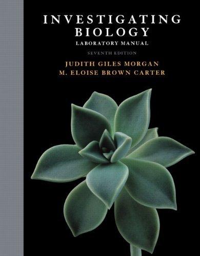 Investigating Biology Lab Manual by Jane B. Reece (2010-10-08)
