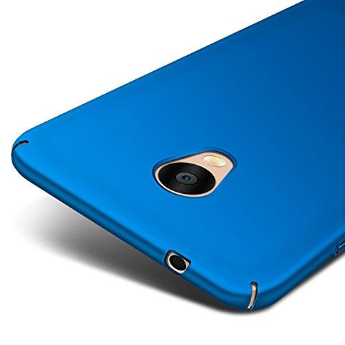 Blu Ultra Sottile Custodia Cover Case + Pellicola Protettiva Per Meizu M5s (Non compatibile con Meizu M5) Vooway® MS70314