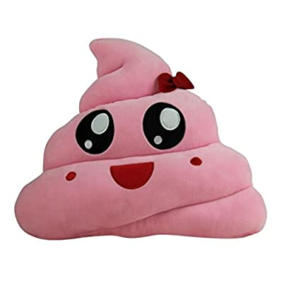 Decorie Super Cute Funny Emoji Tear Eyes Poo Shape Doll Cushion for Kids Toy - inexpensive UK light shop.