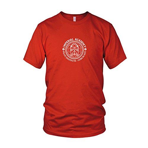 Imperial Academy - Herren T-Shirt, Größe: L, Farbe: rot