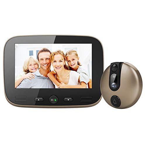 SAFE-HOME 4,3 Inch Digitale Türklingel LCD Farbe Bildschirm Video-Auge Tür Viewer Ir Nacht-Vision Visuelle Tür Guckloch Kamera Foto/Video Cam Lcd-digital-safe