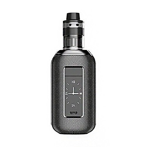 E Sigaretta Aspire Skystar 210 W Vape Kit con Revvo Tank 2ml 210W Skystar Touch Screen Box Mod Firmware aggiornabile, No nicotina, No E liquido, (Carbon Black)