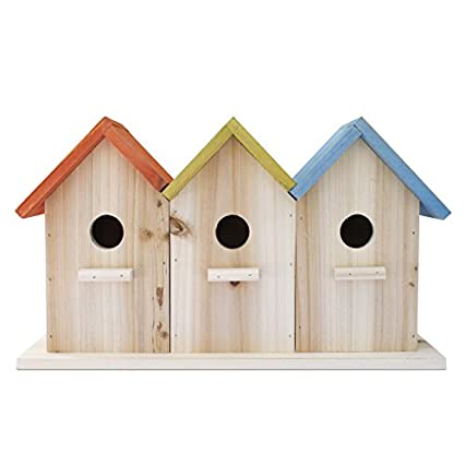 23api casetta per uccelli in legno