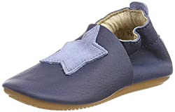 Däumling Unisex Baby Lee Slipper, Blau (Nappa Cf Jeans), 23 EU