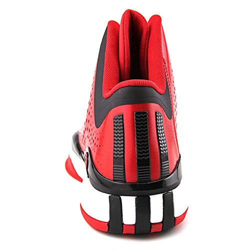 adidas D Rose 773 III Mens Basketball Shoe 10 Black-Scarlet Scarlet-Black-White