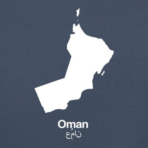Oman / Sultanat Oman Silhouette - Herren T-Shirt - 13 Farben Navy