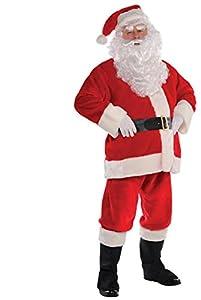 Christy`s - Disfraz de Santa para hombre, talla única (996122)