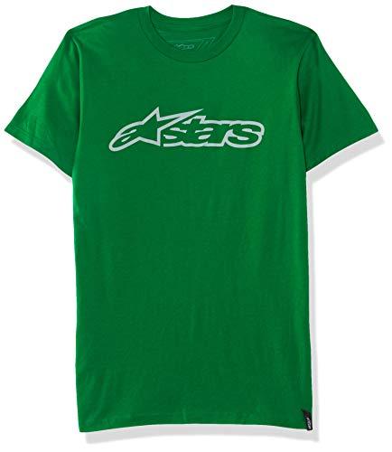 Alpinestars Herren T-Shirt Blaze Tee Kelly Green/Gray, M -