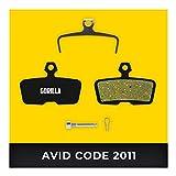 Avid Bremsbeläge Code & Code R ab 2011 & SRAM Guide RE für Fahrrad Scheibenbremse I Hohe Bremsleistung I Langlebiger & Passgenauer Bremsbelag