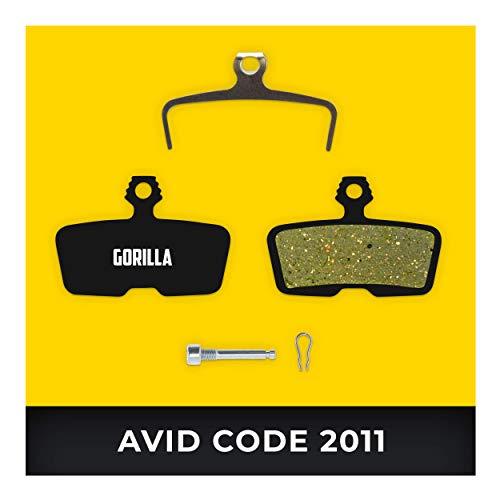 Avid Bremsbeläge Code & Code R ab 2011 & SRAM Guide RE für Fahrrad Scheibenbremse I Hohe Bremsleistung I Langlebiger & Passgenauer Bremsbelag I Organischer Belag