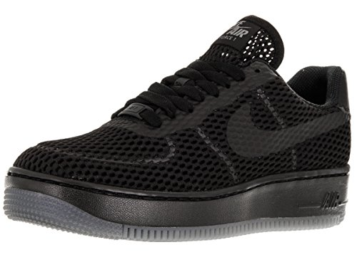 Nike Damen W Af1 Low Upstep BR Turnschuhe, Weiß, 36.5 EU Black/Black/Cool Grey